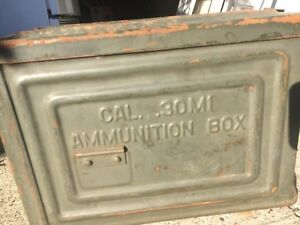 Ammo Case - Metal