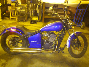 Motorcycle Johnny Pag 320cc fuel injected