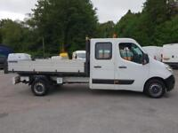 2014 Renault Master Double Cab Tipper/62000 MILES
