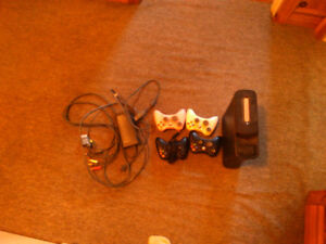 Xbox 360, wheel&pedals, 37 games