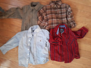 Size 3 Boys Clothing ...Sweaters, long sleeve shirts and pants