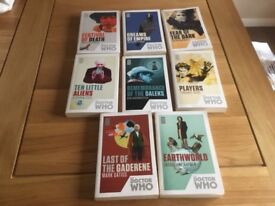 8 Dr Who books