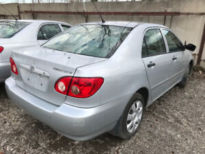 2008 Toyota Corolla  ** FOR PARTS ** INSIDE & OUTSIDE **