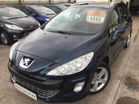 2010 PEUGEOT 308 1.6 HDI 110 Sport LOW MILES FSH PX WELCOME FINANCE AVAILABLE
