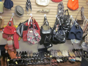 Large selection of bags and shoes at RE in New Minas