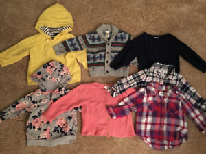 9-12mo Girl LOT  - Gap, H&M, Old Navy, Tommy Hilfiger, Carters