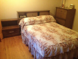BEDROOM SET (DOUBLE SIZE) - GREAT CONDITION - NEGOTIABLE