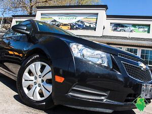 '12 Chevy Cruze LT Turbo+Keyless+R/Start+A/C! Only $54/Pmts!!