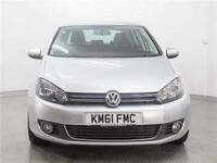 2011 VOLKSWAGEN GOLF 2.0 TDi 140 GT 5dr [Leather]