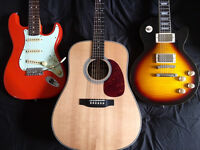 Guitar Tuiton (Electric & Acoustic)
