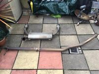Suzuki swift sort Piper exhaust system