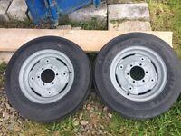 Ferguson Tractor Wheels