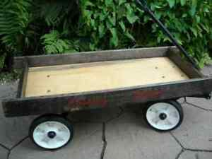 Wagon for kids-country estate-wagon pour enfants- vintage