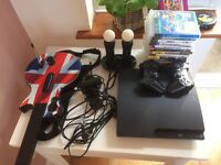 Play station 3 + accesories