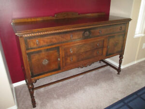 Beautiful Antique Sideboard/Buffet - REDUCED PRICE
