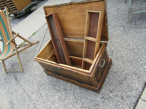 #greenspotantiques old wire mesh drawers, lots of... old tool ch Cambridge Kitchener Area image 2