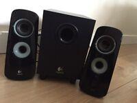 Logitech Desktop Speakers and Sub