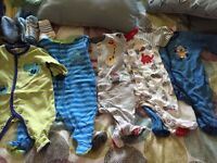 5 baby pjs size 3m