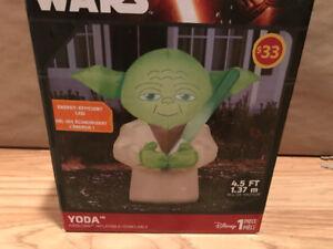 New Halloween YODA Inflatable Star Wars