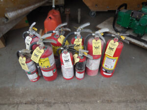 Fire Extinguisher Package (9 pcs)