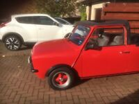 Classic mini clubman cabriolet