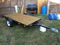 Almost new Utility trailer 4x8