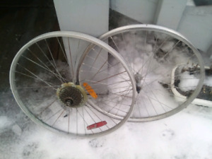 "26 "" inch bicycle wheels"