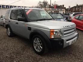 2007 LAND ROVER DISCOVERY 2.7 Td V6 XS 5dr 7 SEATS