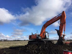 290LC-5 Hitachi Excavator