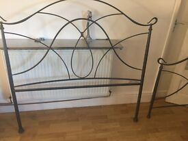 Black Double Bedstead : REDUCED!!