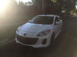 2012 White Mazda 3 Sport GS Skyactive 6sp
