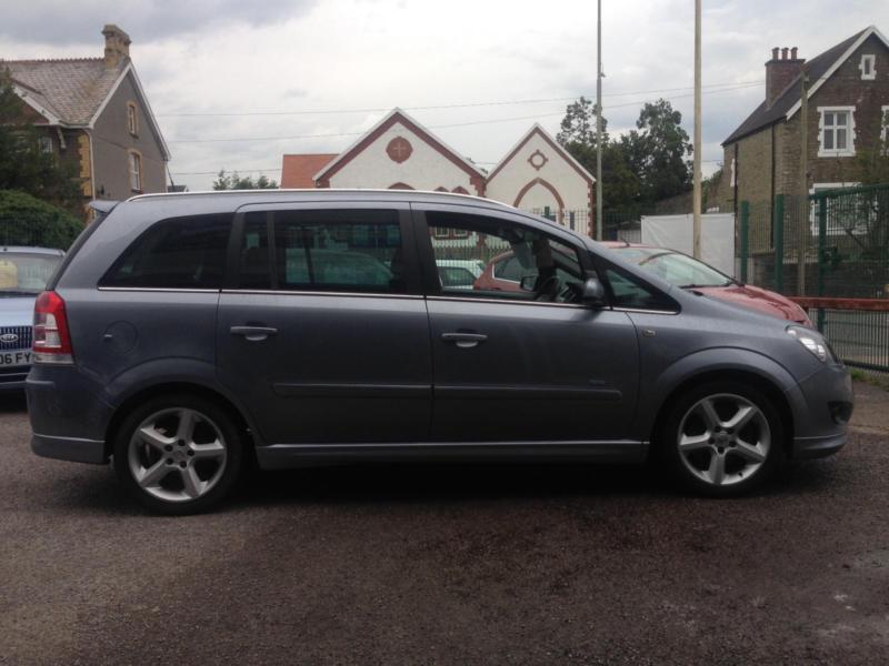 Vauxhall Zafira 1.9CDTi (150ps)(XP)SRi *12 months Warranty,Recovery,Mot Cov INC*