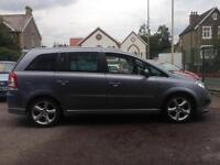 2008(08) Vauxhall Zafira 1.9CDTi (150ps) (Exterior pk) SRi (Finance Available)