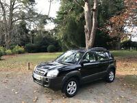 2004 Hyundai Tucson 2.0 CRTD CDX Turbo Diesel 4x4 5 Door Estate Black