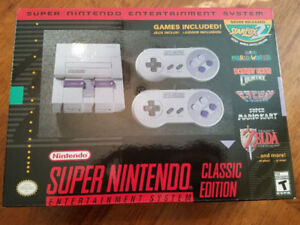 Brand New Unopened SNES Nintendo Classic Edition System