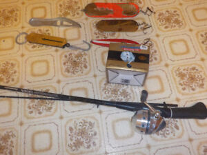 Pflueger Cetina + Rod + Accessories