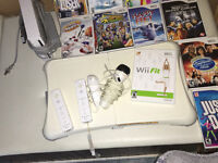 Wii fit & board + games