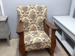 Chaise berçante antique rocking chair