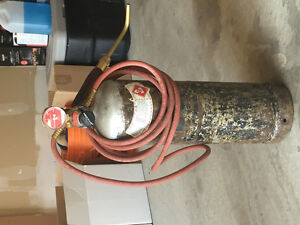 Acetylene Torch Set - full tank
