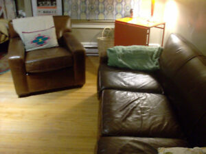 LEATHER COUCHES, HIGH QUALITY, RESTORATION HARDWARE