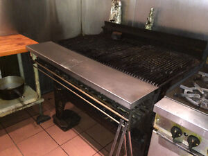 Industrial BBQ Grill Gas for sale in working condition