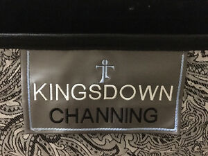 Queen Sized Kingsdown Channing Mattress, Box Spring, & Frame!