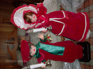 2 Xmas Animated Dolls
