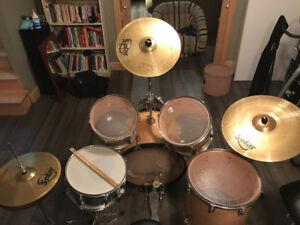 Drum - ensemble Precision Percussion avec double pedal