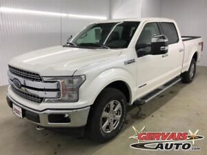 Ford F-150 Lariat 4x4 Diesel GPS Cuir Toit Panoramique MAGS 2018