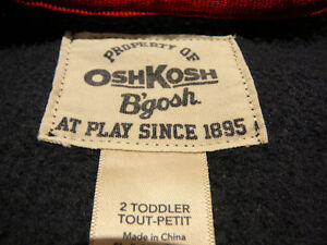 """Ensemble """"Osh Kosh"""" (taille 2) West Island Greater Montréal image 5"""