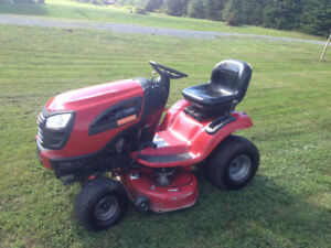 Craftsman 22hp,656cc,V twin  Briggs and Stratton ride on mower