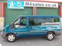 Ford Tourneo 110ps,9st minibus.No Vat