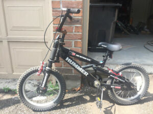 Hummer H16 boys special edition bicycle.