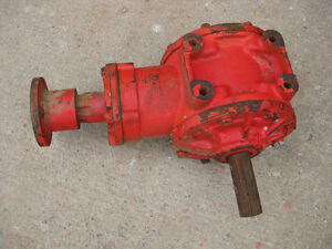 Cessna hyd. motor and heavy duty right angle gearbox